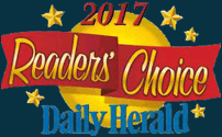 Daily Herald as a 2017 Readers' Choice Top 5 Best Law Firm